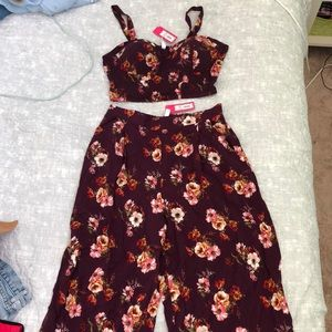Floral co-ord